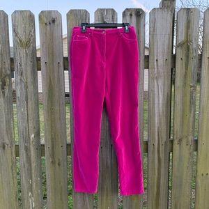 Chadwicks velvet Pants Size 10 T